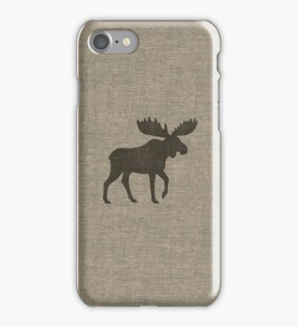 Moose Silhouette(s) iPhone Case/Skin