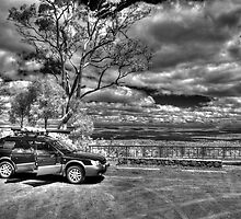 Subaru on Mt Dale, IR by BigAndRed