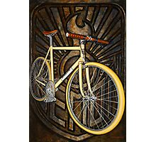 Demon path racer bicycle Photographic Print