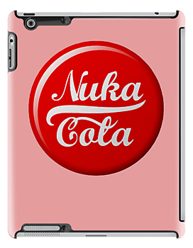 Fallout Nuka Cola Soda Bottle Cap - Pink by HighDesign