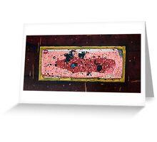 Austral Brick Landscape. Greeting Card
