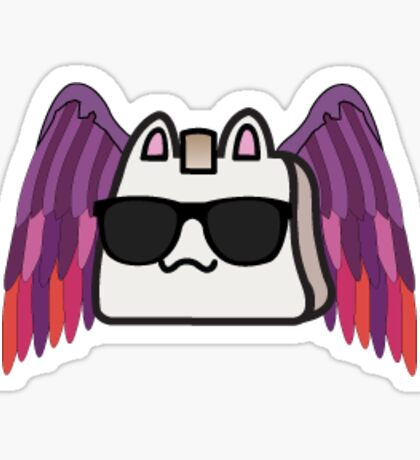 Saints Row: Gat Out of Hell CatBag Sticker