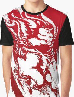 Run Wild (Red/White) Graphic T-Shirt