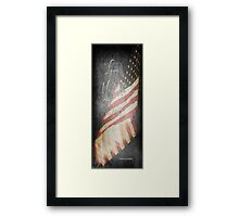 Long May She Wave Framed Print