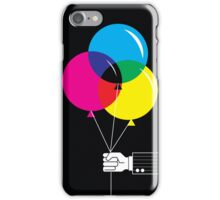 CMYK Balloons iPhone Case/Skin