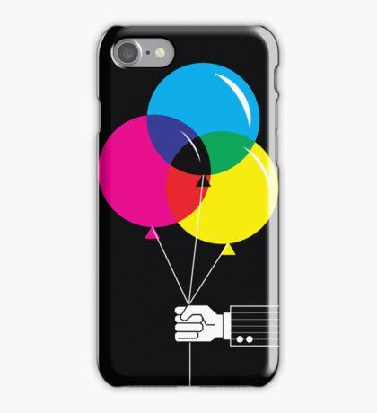 CMYK Balloons iPhone Case/Skin