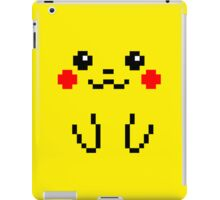 Pikachu Face 8bit iPad Case/Skin