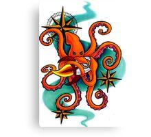 Squids in Space Canvas Print