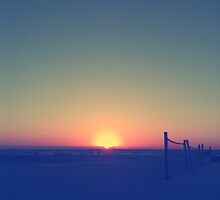 Distant Sunset by Dev7in