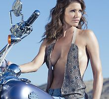 Tricia Helfer vs. iPad by actingoutlaws