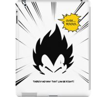 IT'S OVER 9000!  iPad Case/Skin