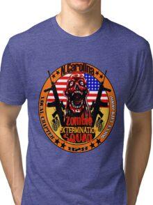 N.Carolina Zombie Extermination Squad Tri-blend T-Shirt
