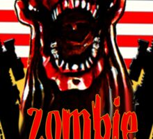 N.Carolina Zombie Extermination Squad Sticker