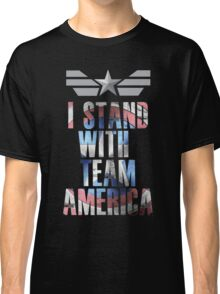 I Stand With Team America Classic T-Shirt