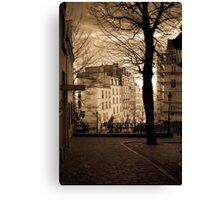 Montmartre - Paris Canvas Print