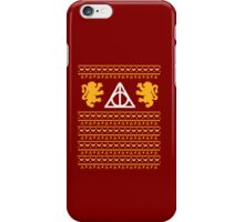 A Gryffindor Holiday iPhone Case/Skin