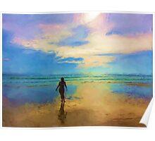 Sea colours Poster