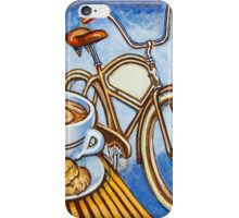 Brown Electra delivery bicycle coffee and amaretti iPhone Case/Skin