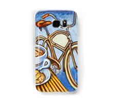 Brown Electra delivery bicycle coffee and amaretti Samsung Galaxy Case/Skin