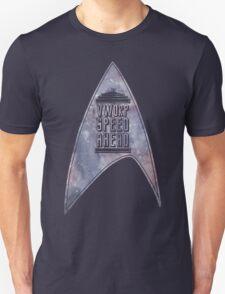VWORP SPEED AHEAD (alternate) T-Shirt