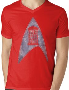 VWORP SPEED AHEAD (alternate) Mens V-Neck T-Shirt