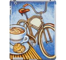 Brown Electra delivery bicycle coffee and amaretti iPad Case/Skin