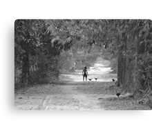 A ribbon of a road Canvas Print