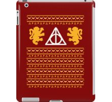 A Gryffindor Holiday iPad Case/Skin
