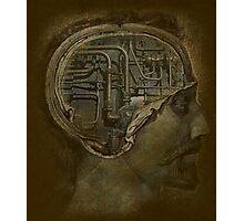 Man's Brain Photographic Print
