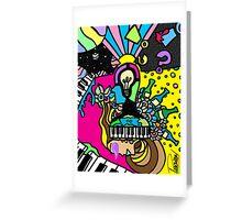 Surreal Pop Phase 2: Surreal Pop Mind 2012 Greeting Card