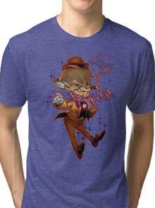 Mr. Mxyzptlk Tri-blend T-Shirt