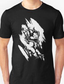 Run Wild (White/Black) Unisex T-Shirt