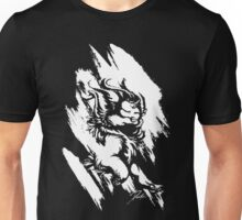 Run Wild (White/Black) Unisex T-Shirt
