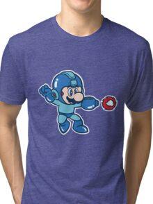 Mega Mario Tri-blend T-Shirt