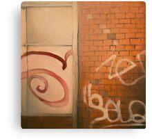 Chatîllon Graffiti Canvas Print