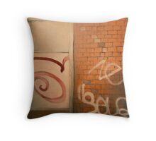 Chatîllon Graffiti Throw Pillow