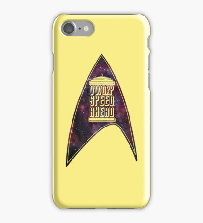 VWORP SPEED AHEAD iPhone Case/Skin