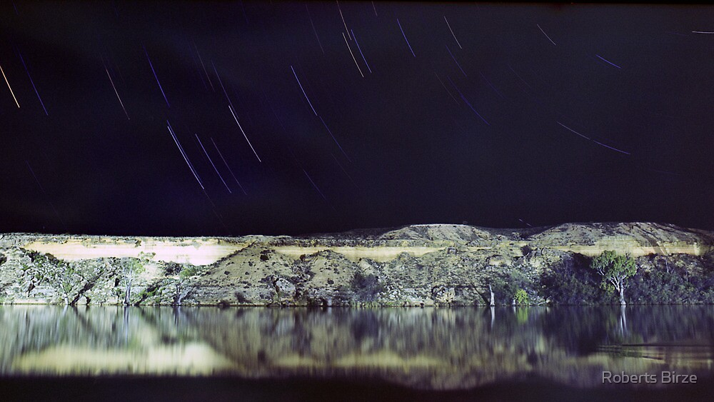 Stars over the Murray by Roberts Birze