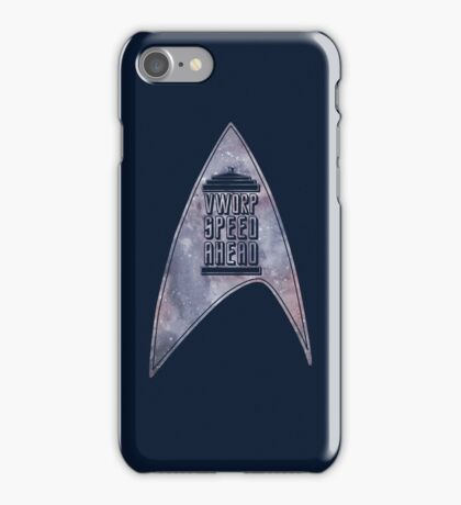 VWORP SPEED AHEAD (alternate) iPhone Case/Skin