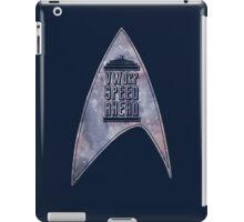 VWORP SPEED AHEAD (alternate) iPad Case/Skin
