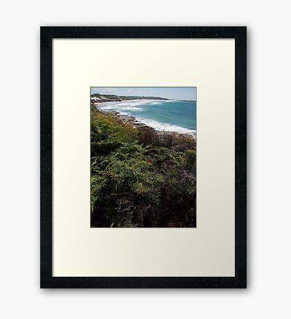 Back Beach Framed Print