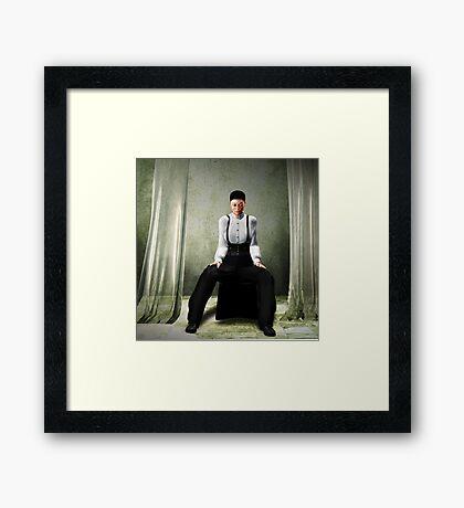 Aged Ballerina Framed Print