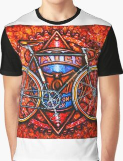 Bates Bicycle Graphic T-Shirt