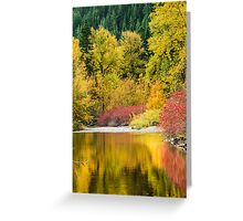 Nason Creek Greeting Card