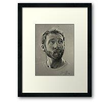 Study of Ian Framed Print