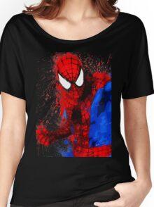 Web-Head - Splatter Art Women's Relaxed Fit T-Shirt