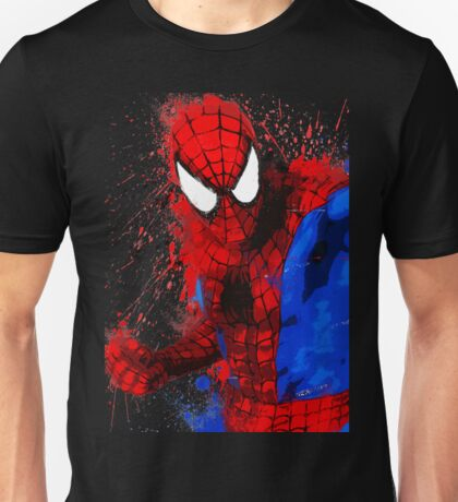 Web-Head - Splatter Art Unisex T-Shirt
