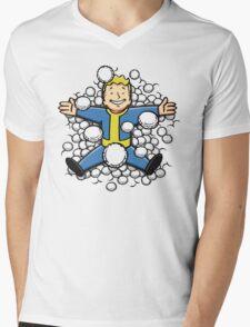 Nuclear Beauty Mens V-Neck T-Shirt