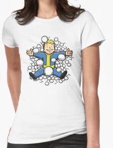 Nuclear Beauty Womens Fitted T-Shirt