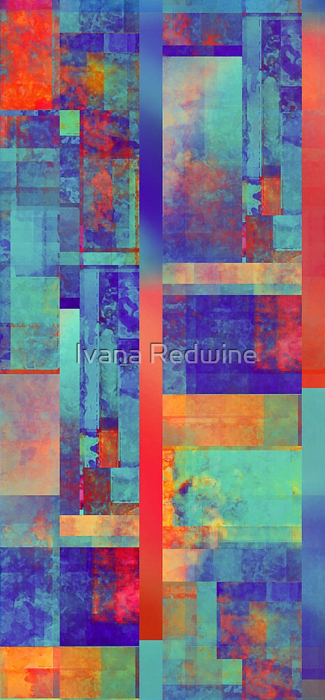 Abstract Composition - Version Three by Ivana Redwine